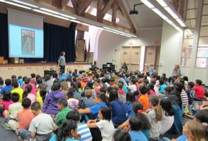 Eric Laster at Westpark Elementary School