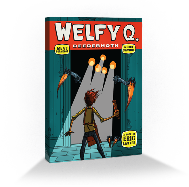 Spread the word; get special Welfy merch!