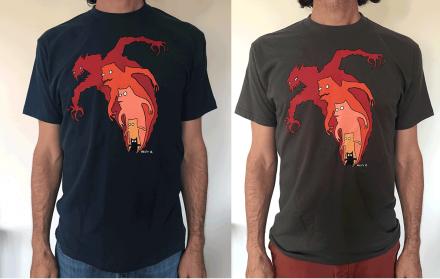 Marmadillion t-shirt