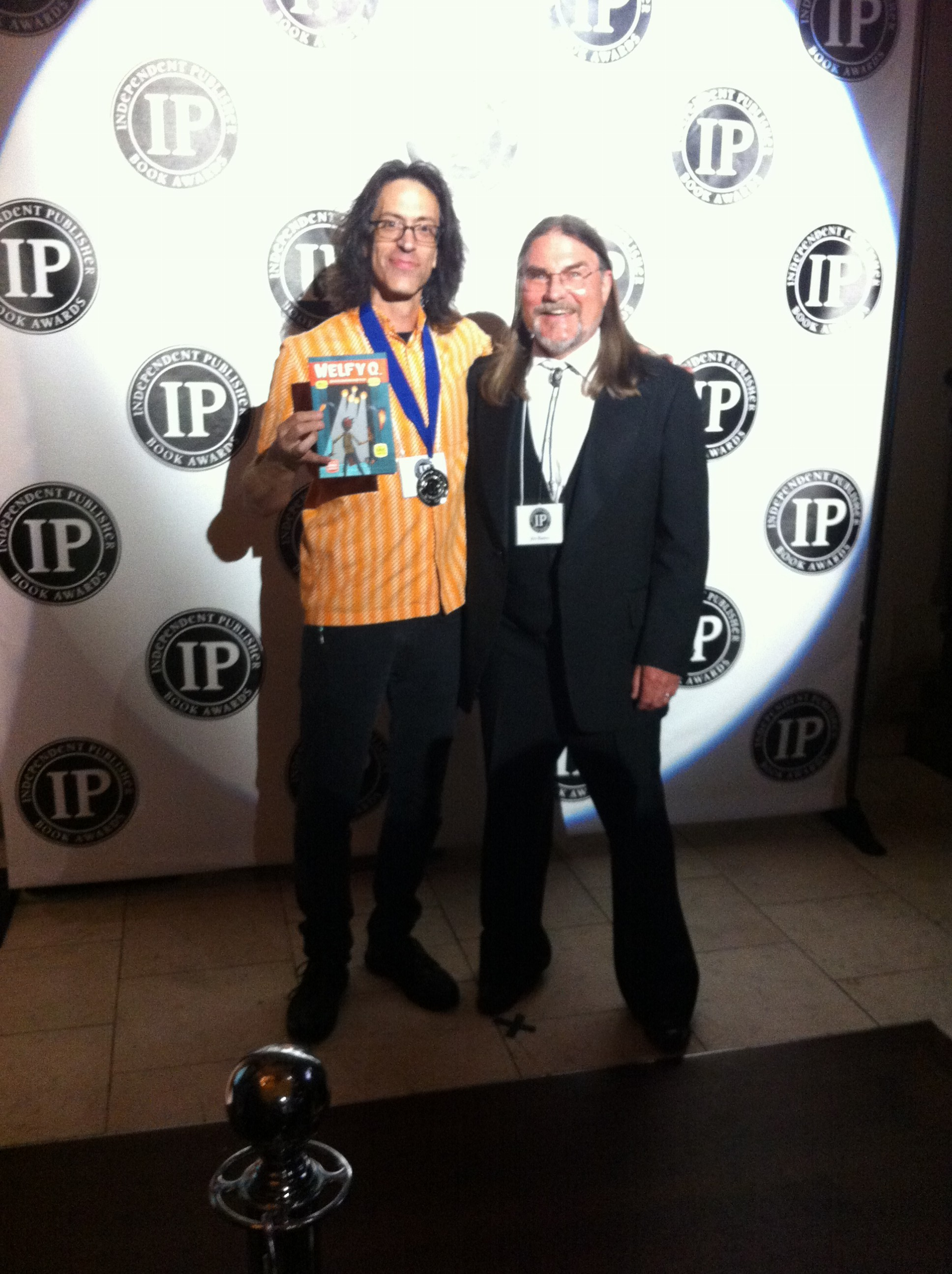 Eric Laster & WELFY Q. win IPPY Silver Medal